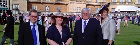 Buckingham Palace Garden Party following OYT South's Queen's Award for Voluntary Service