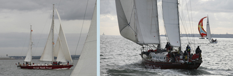 John Laing in the 2008 ASTO Small Ships race (photos:MAX)
